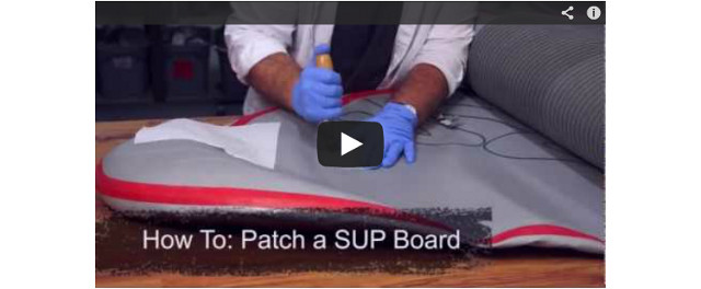 How to Patch an Inflatable SUP Board