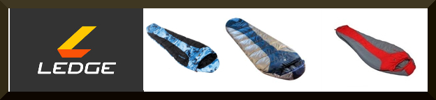 Ledge sleeping bags